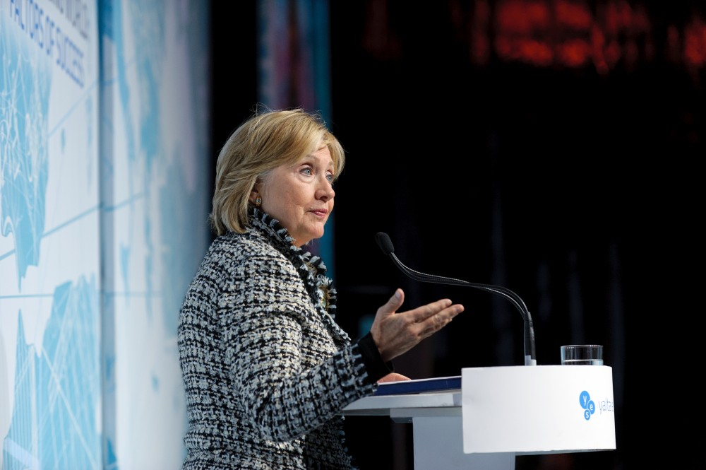 Dinner Speech by Hillary Clinton: Remarks on Leadership