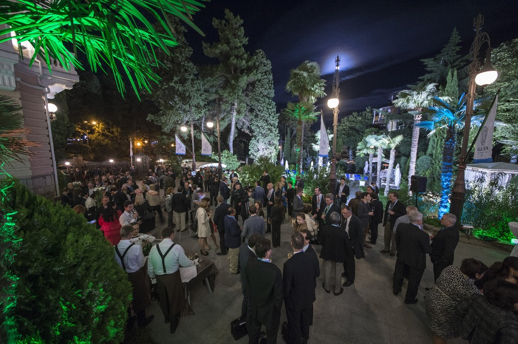 Welcome reception on the occasion of the opening of the 10th Annual Meeting of YES