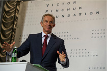 "Tony Blair's visit to Dnipropetrovsk and his public lecture ""Modernizing Countries in the 21st Century"" at the invitation of the Victor Pinchuk Foundation"