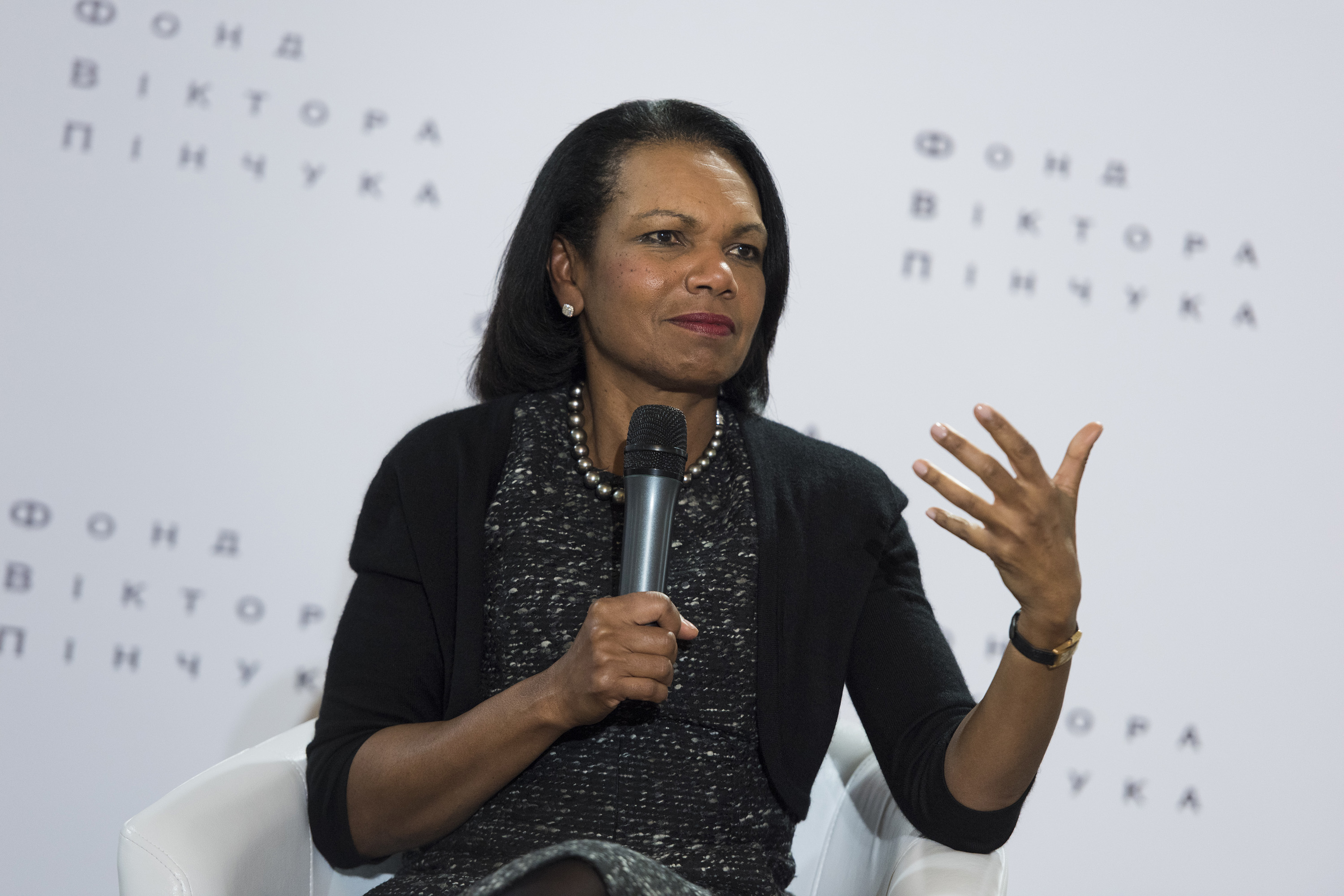 Public lecture by Condoleezza Rice on Challenges in an Ever-Changing World