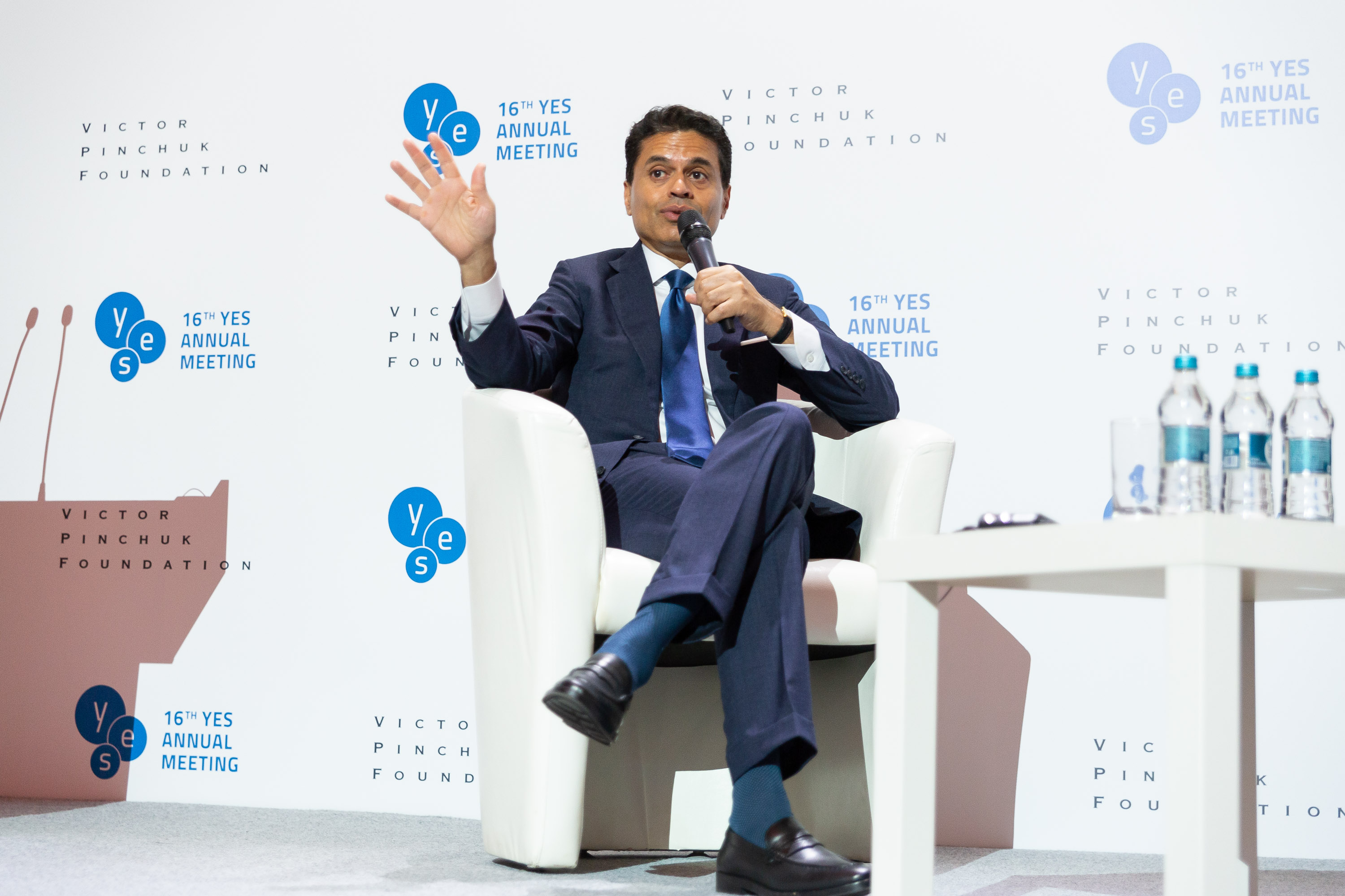 "Public lecture ""Western Decline, China's Rise and a New World Order"" by Fareed Zakaria, Host, Fareed Zakaria GPS, CNN"