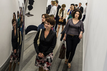 Vernissage of the solo exhibition by Anish Kapoor