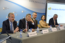 "Ukrainian Election Task Force's panel discussion: ""Foreign Meddling in Ukraine's 2019 Presidential Election"""