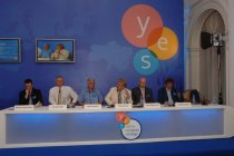 The third annual meeting YES (Yalta European Strategy) in Yalta, Ukraine.
