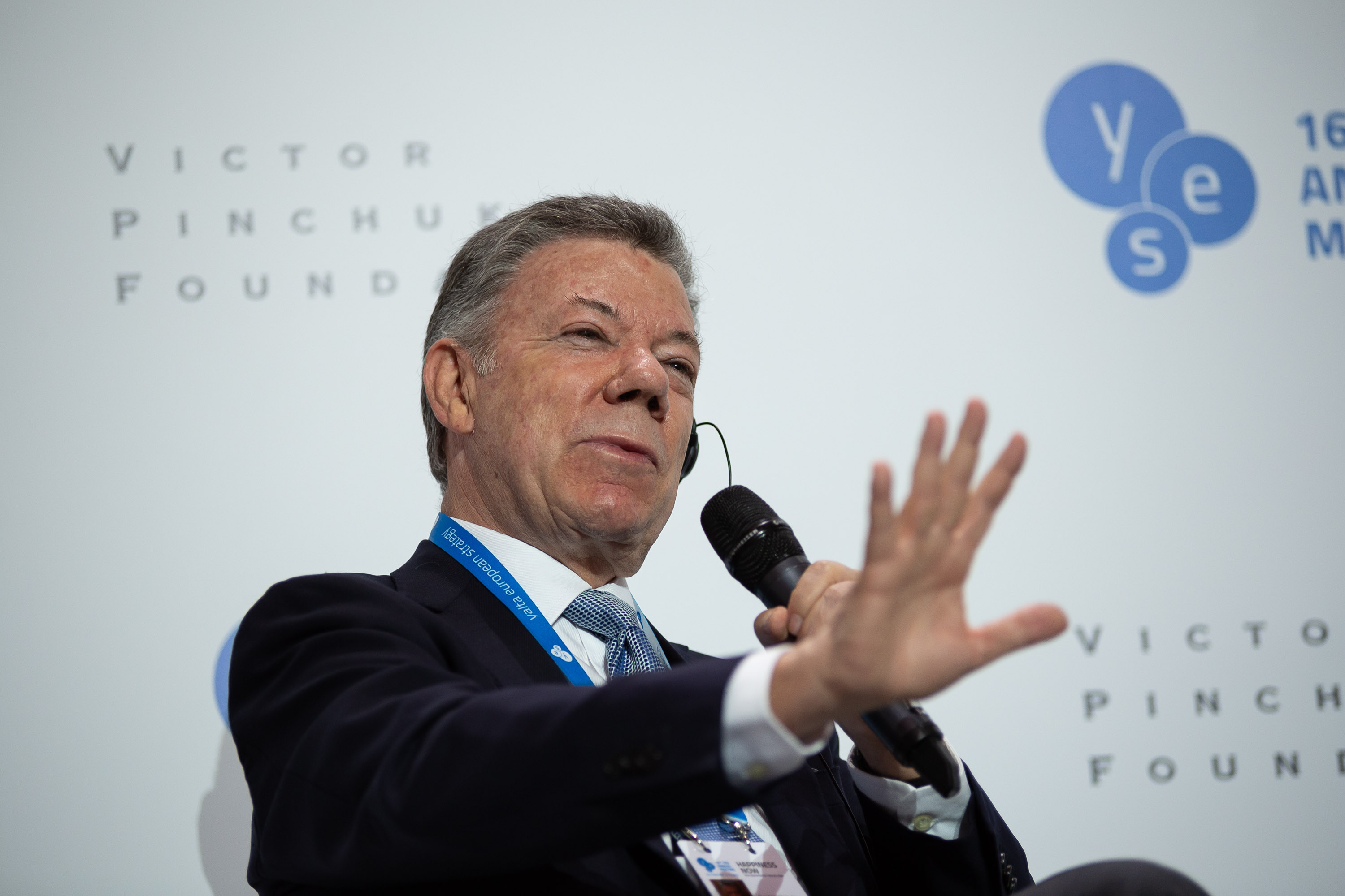 "Public lecture ""Port of Destiny: From the Impossible to the Possible"" by H.E. Juan Manuel Santos Calderón"