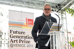 Official opening of the Future Generation Art Prize @ Venice 2013 exhibition