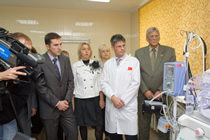 Opening of the «Cradles of hope» Centre in Odessa regional clinic hospital
