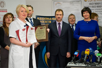 Celebration of the first anniversary of the neonatal center at the Kyiv City Hospital № 7