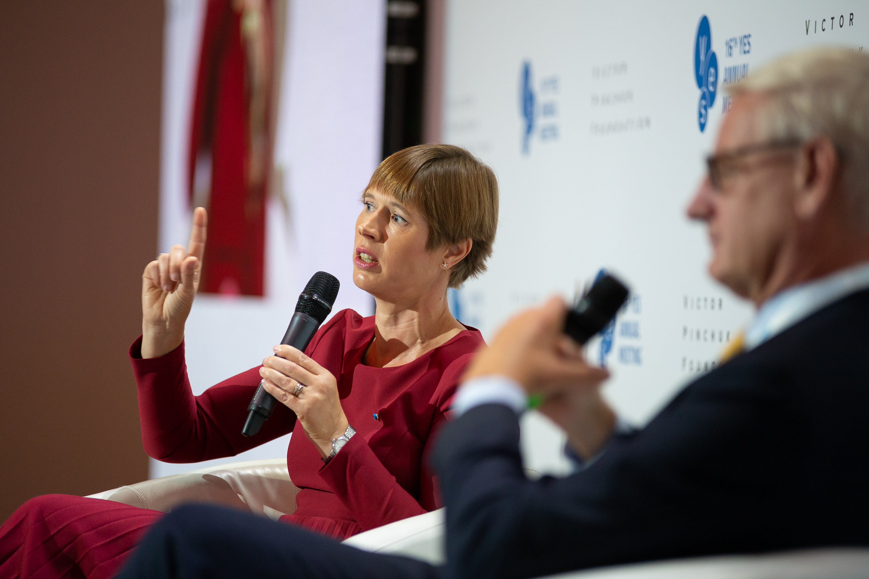 "Public lecture ""Conversation with H.E. Mrs Kersti Kaljulaid, the President of the Republic of Estonia"""