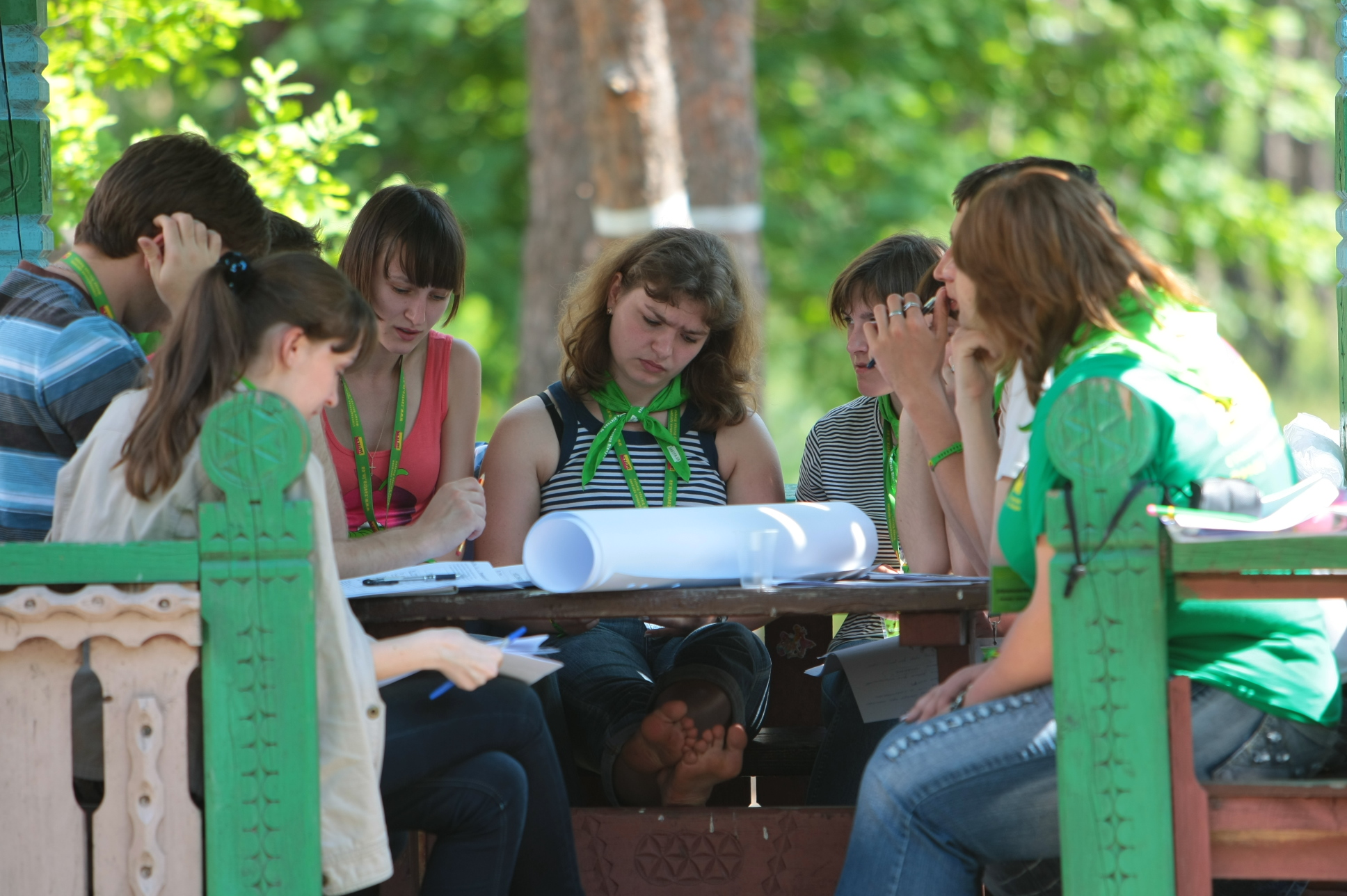 Work of the 4th Zavtra.UA-2011 Youth Forum