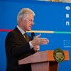 42nd President of the United States Bill Clinton Discussed Global Challenges with Ukrainian Students