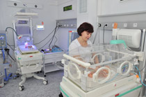 TV-reports of the official opening of the re-equipped Dnipropetrovsk perinatal center