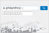 "The 5th Davos Philanthropic Roundtable ""e-philanthropy"""