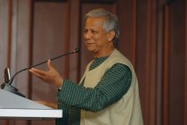 KSE Public Lecture «Fighting powerty» by Mohammad Yunus. April 8 2008