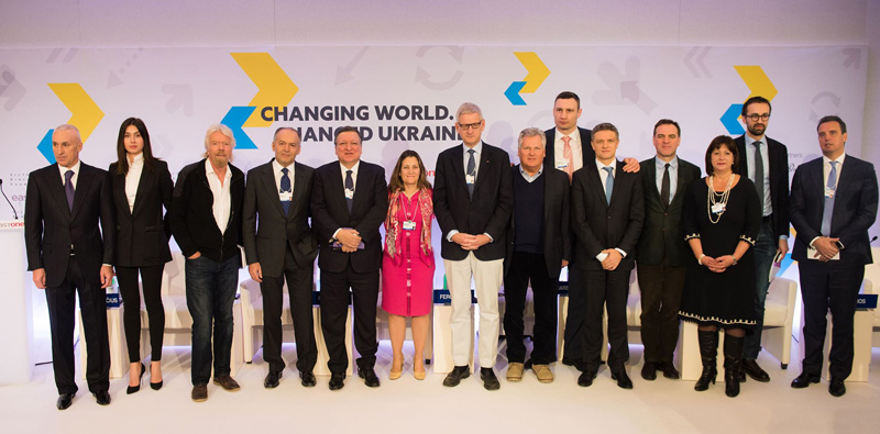 Davos Ukrainian Breakfast (с) Victor Pinchuk Foundation. Photo: Sergey Illin